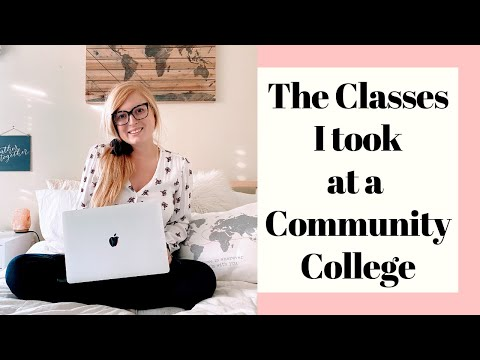 The College Classes I Took at a Community College as a Computer Science Student