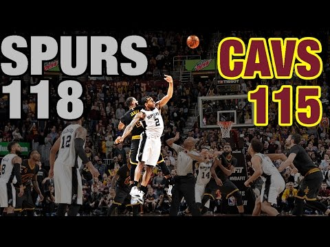 Crunch Time In Cleveland: Re-Live The 4th Quarter & OT In Spurs' Huge Comeback Win
