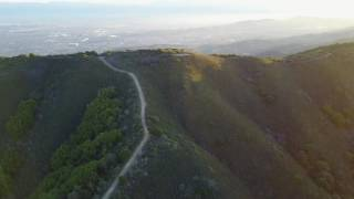 Enjoy a bird's-eye view of Sierra Azul Open Space Preserve and the surrounding hills. Most of this video was taken at the intersection of the Kennedy and Priest Rock trails.
