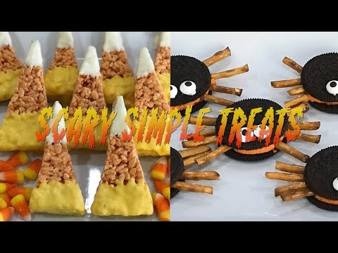 PARTY PERFECT EASY TO MAKE SPOOKY HALLOWEEN TREATS