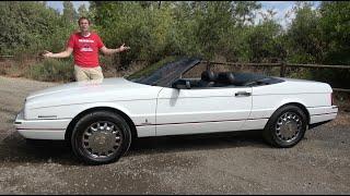 The Cadillac Allante Was a Quirky, Interesting Failure