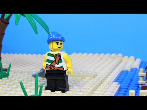 Vidéo LEGO Pirates 6240 : Le radeau des pirates et la pieuvre