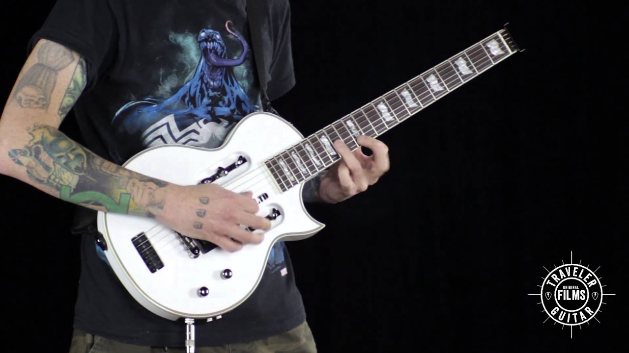Traveler Guitar LTD EC-1 Electric Guitar Product Demonstration by Erock