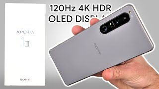 Sony Xperia 1 III UNBOXING and Initial REVIEW - World's FIRST 4K 120Hz Smartphone