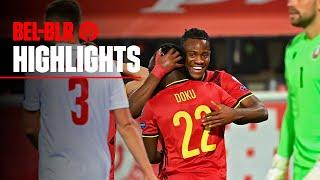 Belgia 8-0 Belarusia Pekan 3