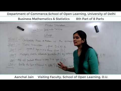 B.Com 2nd Semester (B.M.S) Lecture - Aanchal Jain  Part-8
