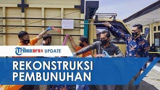 POPULER: Rekonstruksi Kasus Istri Muda yang Tewas Berlutut di Truk, Cekcok hingga Mayat Digantung