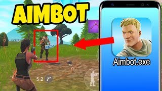 I bought a AIMBOT for Fortnite Mobile...