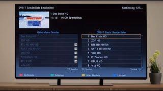 Einrichten von DVB-T 4K UHD TV | Tutorial | Panasonic Academy