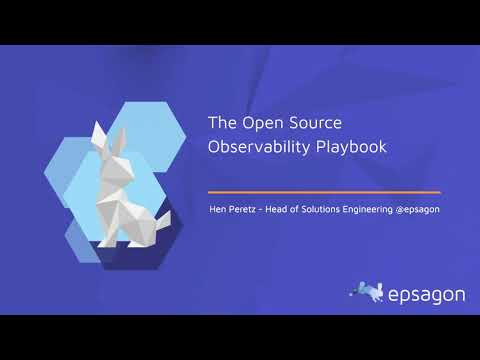 The open-source observability playbook