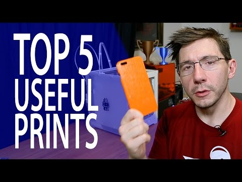 My Top 5 Useful 3D Prints
