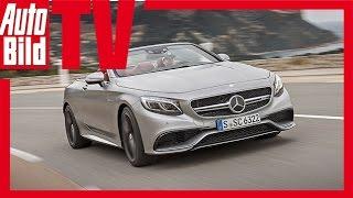 Mercedes-AMG S 63 Cabrio (2016) Review/ Test/ Fahrbericht/ Sound