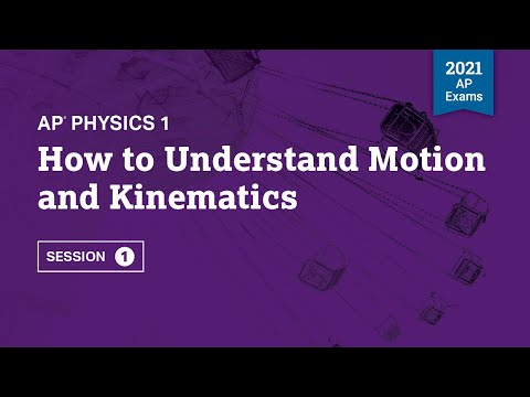 How to Understand Motion and Kinematics   AP Physics 1