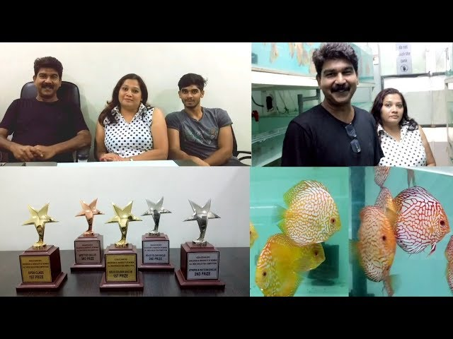 The Team of Sams Discus India Fish Farm