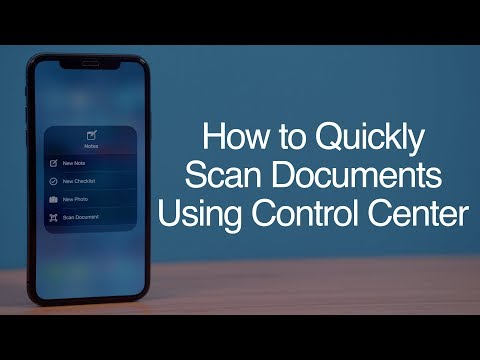 How to Scan Documents Quickly Using Control Center