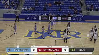 Girls BKB: Southside vs Springdale