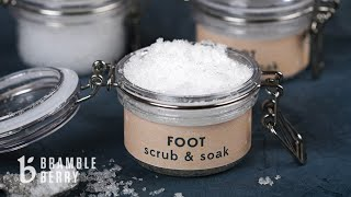 Cooling Foot Soak & Scrub