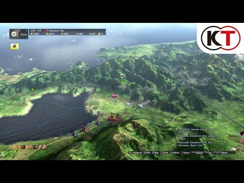 Видео № 1 из игры Nobunaga's Ambition: Sphere of Influence [PS4]