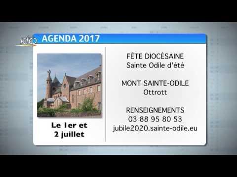 Agenda du 23 juin 2017