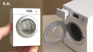 【Miniature】Washing Machine Made From Scratch   1:12 Scale