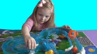 Игровой океанариум Ocean Track Park Кристина играет в океанариум