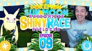 Crobat  - (Pokémon) - CRAZY SHINY CROBAT! Pokemon Sun and Moon Randomizer Shiny Race Nuzlocke with aDrive! Episode 9