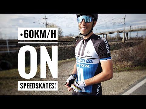 +60km/h sprinting on Speedskates // Felix Rijhnen