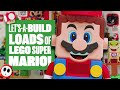 Let's-a-build LOADS of LEGO Super Mario sets! LEGO SUPER MARIO REVIEW AND SPEED BUILDS