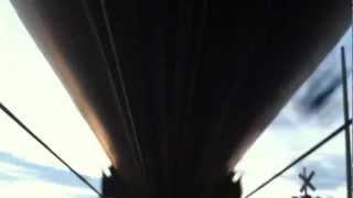 Under Train view of CP 640 Loaded Ethanol, Vinemount