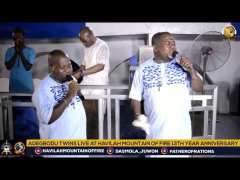 Adegbodu Twins live at Havilah Mountain of Fire (Daddy and Mummy Olubori)