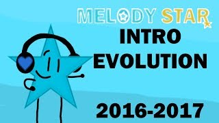 Evolution of the Melody Star Intro!