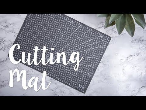 How to Use the Cutting Mat - Sizzix