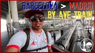 BARCELONA to MADRID BY TRAIN l Spain Travel Guide