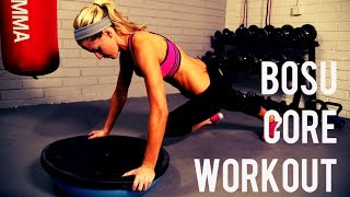 10 Minute Bosu Core Workout For Strong Abs