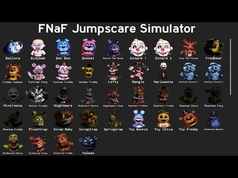 ROBLOX FNAF ALL JUMPSCARES