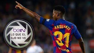 Lo que el ojo no ve - El partido de Ansu Fati ante el Valencia.