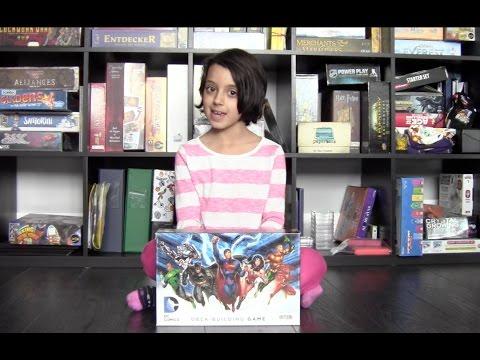 The Cardboard Kid - 008: DC Comics Deck-Building Game