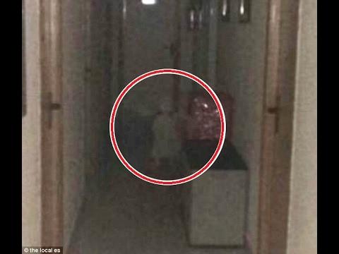 Fantasma de niña en el Ayuntamiento  de Vegas del Genil Granada España