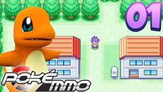 PokeMMO Kanto Walkthrough | A NEW ADVENTURE! | EP 1 (Pokemon Gen 1)