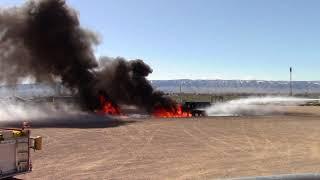 2018 Casper/Natrona County International Airport Live Fire Burn