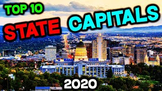 Top 10 BEST State Capitals to Live in America for 2020