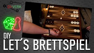 Let's Brettspiel   Backgammon / Tavla   #1