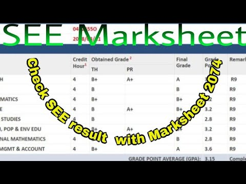 How to check SEE results 2074-75 with Marksheet SMS, Website
