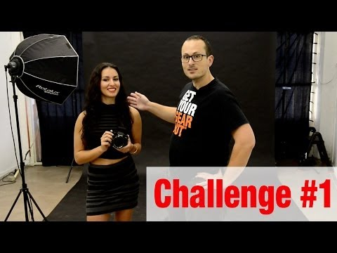 #Challenge Jade - 5 single light portraits in 10 minutes!