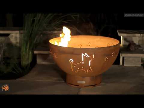 Funky Dog Gas Outdoor Fire Pit