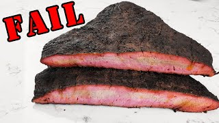 Brisket FAIL! Dont Repeat These TWO MISTAKES
