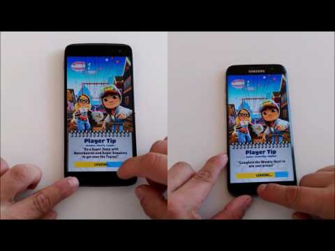 Samsung Galaxy S7 edge vs Alcatel Idol 4S - BOOT/SPEED/MULTITASKING TEST!