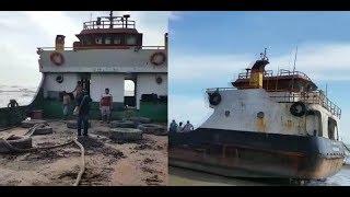 Kapal Pengangkut Alat Berat Terdampar di Perairan Tanjung Silat, Begini Kondisinya Sekarang