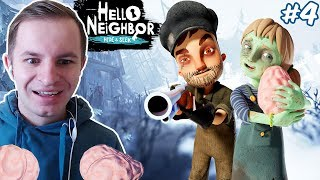 ПРИВЕТ СОСЕД - ПРЯТКИ (ОХОТНИК НА ЗОМБИ) | Hello Neighbor: Hide and Seek #4