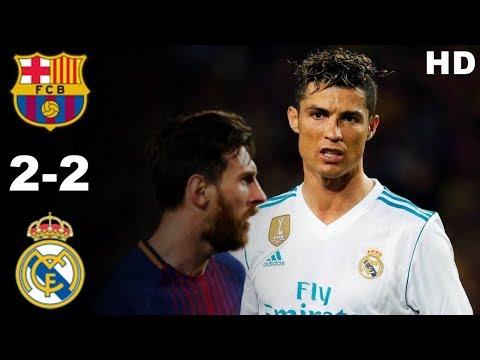 Barcelona VS Real Madrid   Highlights Full HD 06 may, 2018